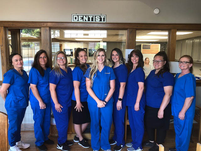 Okmulgee Family Dentistry Group Photo